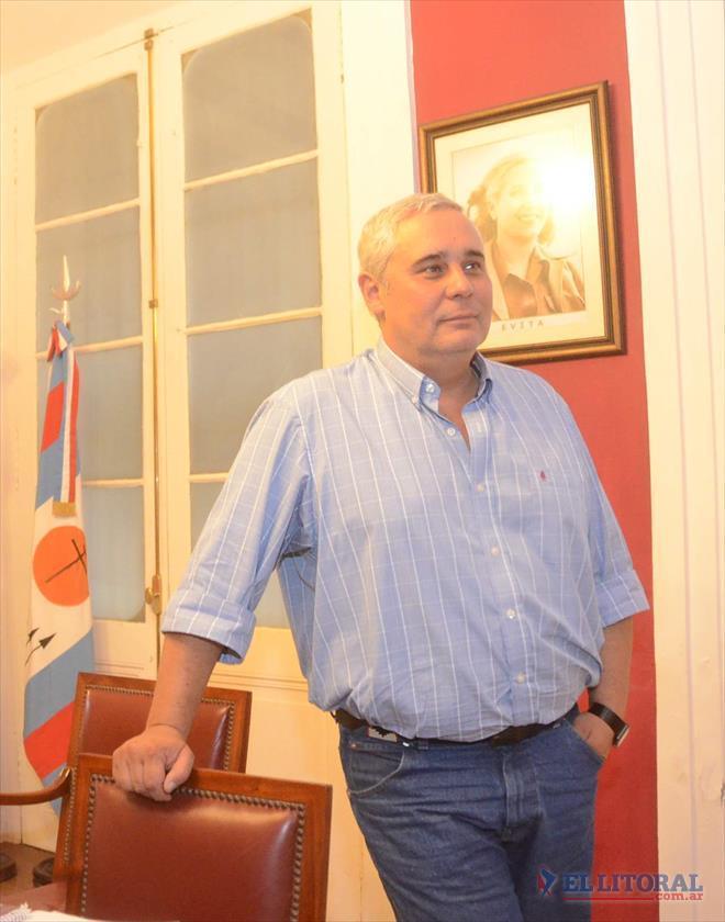 Fabián Ríos, intendente de Corrientes, hablando de su relación con el Gobernador.